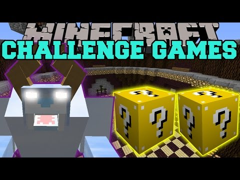 Snow beast challenge games lucky block mod modded mini game