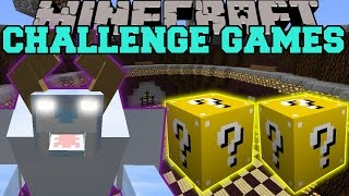 Minecraft: SNOW BEAST CHALLENGE GAMES - Lucky Block Mod - Modded Mini-Game