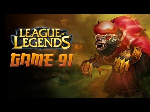 League of Legends Game 91 - Big Bad Warwick