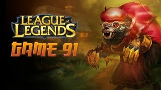 League of Legends Game 91 - Big Bad Warwick