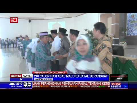 210 Calon Haji di Maluku Batal Berangkat