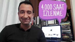 4.000 SAAT İZLENME OLDU PARA KAZANMA AÇILDI (TEŞEKKÜRLER)