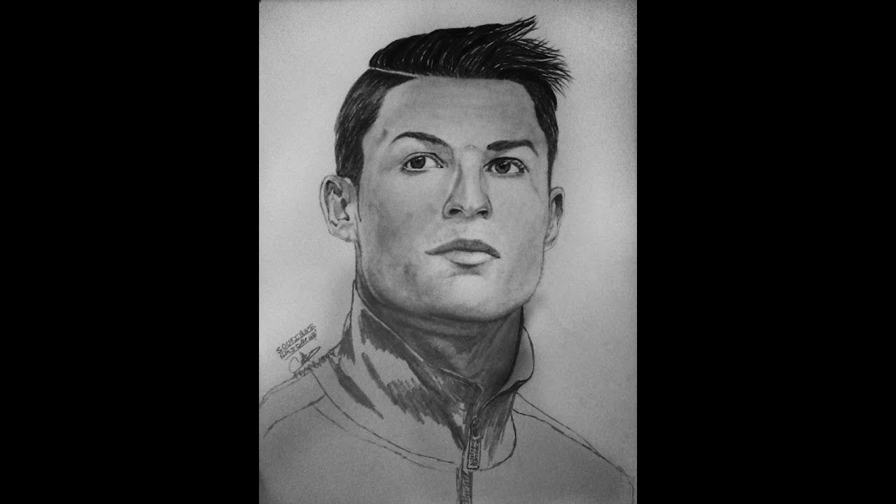 Drawing cristiano ronaldo 7