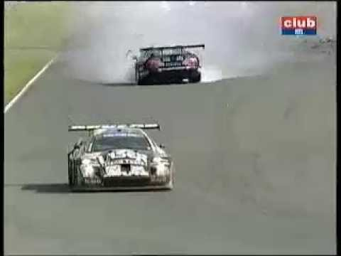 Crash Chrysler Viper GTS-R with a Lister Storm