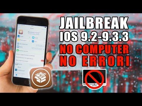 Jailbreak iOS 9.3.3 DAL DISPOSITIVO - GUIDA AGGIORNATA [NO PC, NO ERRORI]