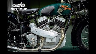 Engine start, Royal Enfield KX. Motorworld by V. Sheyanov