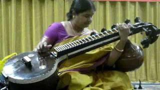 Sarawathi Veena, Taanam, Ragam Mohanam