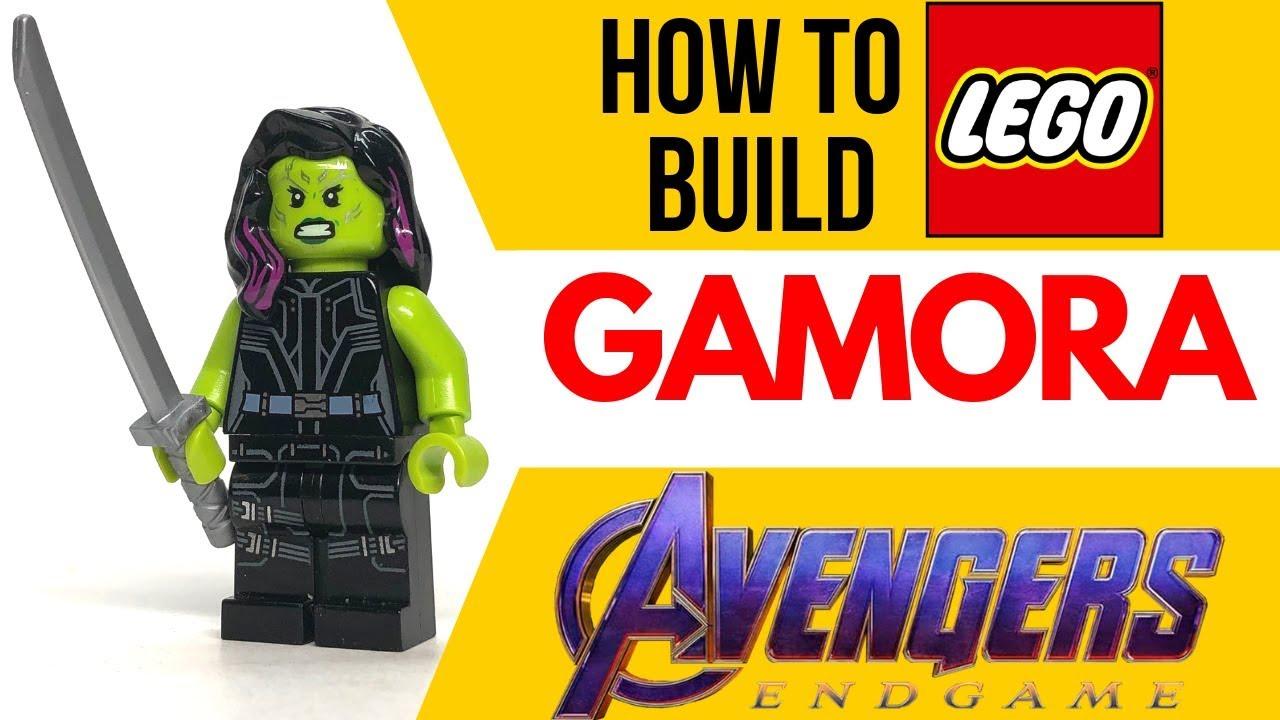 Gamora minifigure marvel guardians of the galaxy avengers lego infinity war