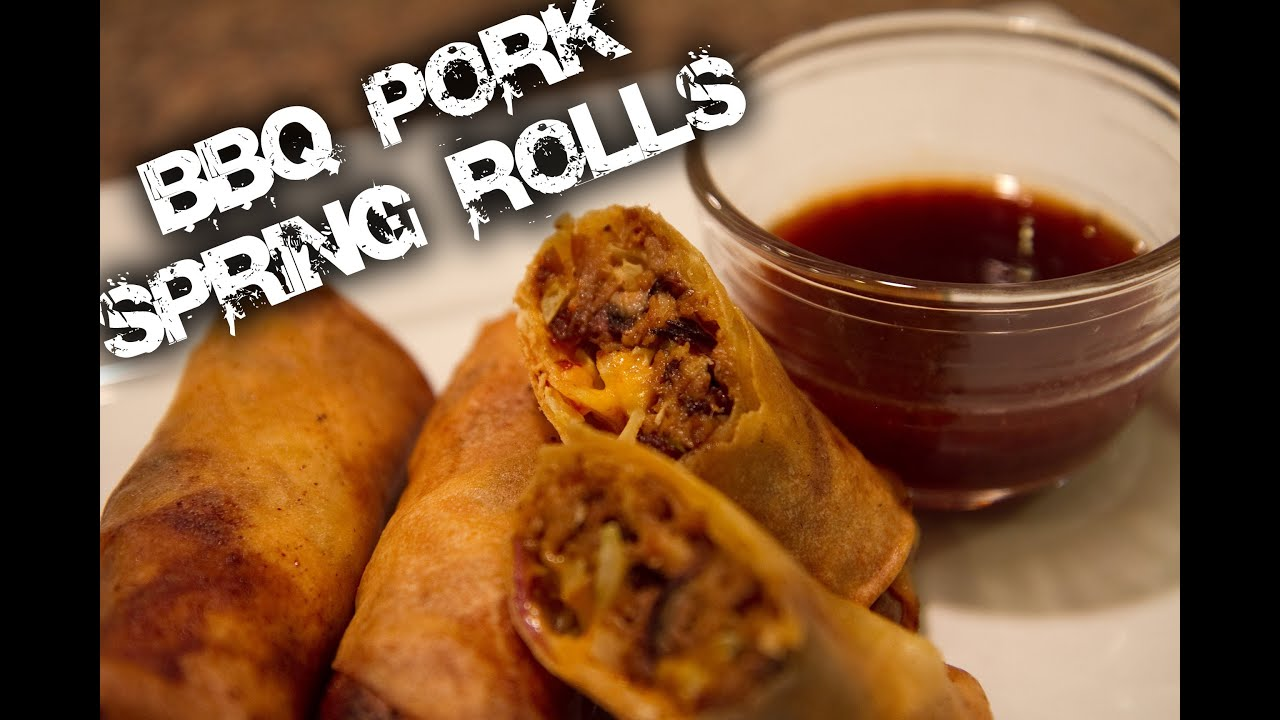 Roast pork egg roll recipe