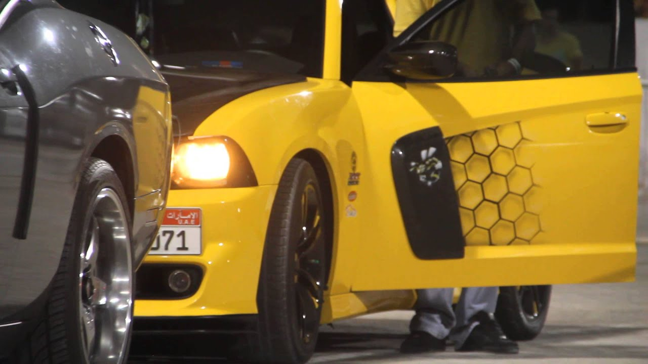 Dodge Charger Custom Super Bee Challenger Srt8 Abu Dhabi Drag Race yas ...
