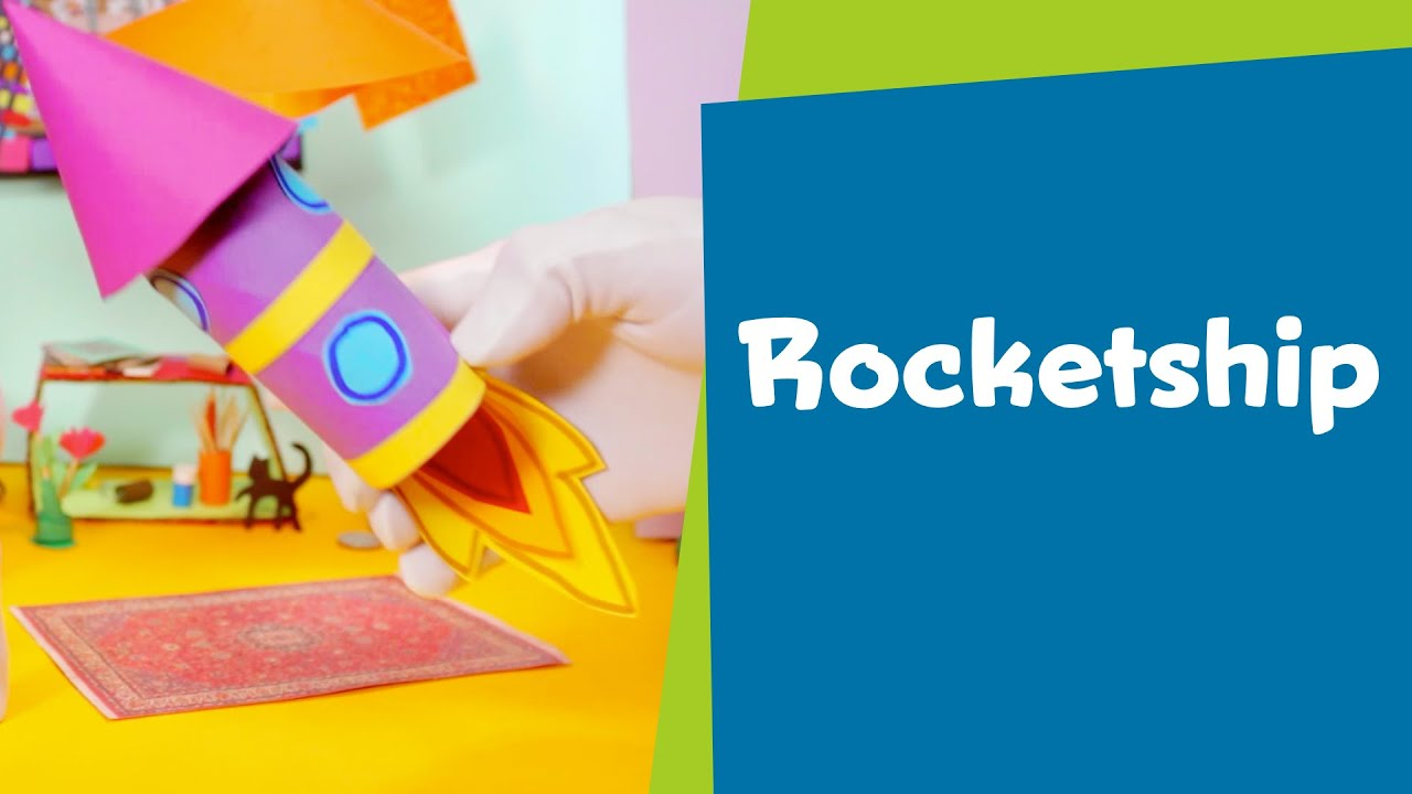 How To Make A Paper Rocketship