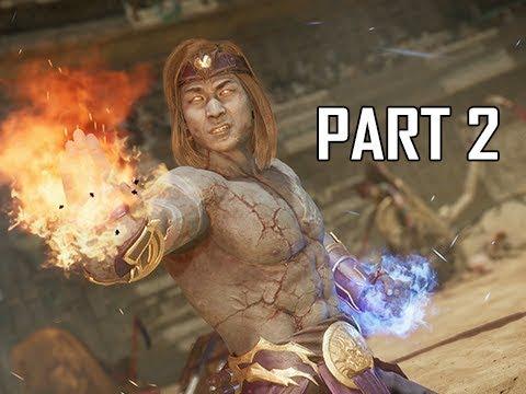 MORTAL KOMBAT 11 Walkthrough Part 2 - Liu Kang (MK11 Story Let's Play Commentary)