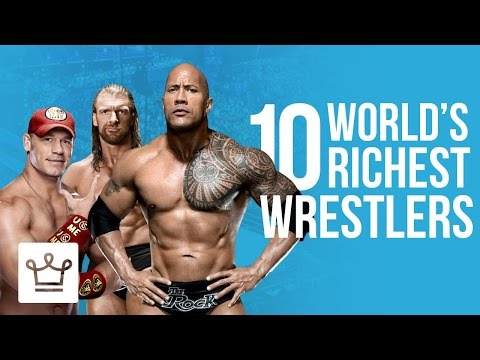 Top 10 Richest Wrestlers In The World 2017 (Ranked)