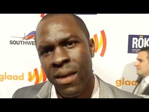Actor Gbenga Akinnagbe at the GLAAD Media Awards/SF 2011