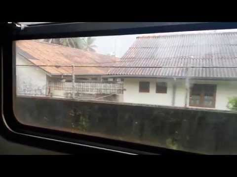 Railway journey to Panadura, Sri Lanka from Colombo 1