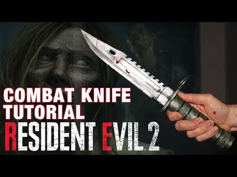 Resident Evil 2 COMBAT KNIFE TUTORIAL DIY
