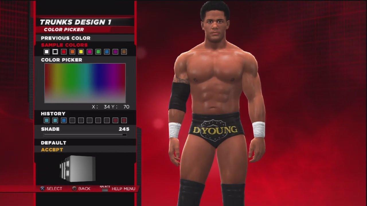 WWE 2K14 Superstar Threads Darren Young Smackdown October 5th 2012 Attire