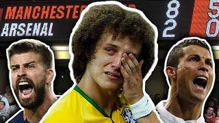 Top 10 Most Humiliating Defeats in Football History!