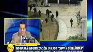 Gustavo Adrianzén RPP Caso Chavín de Huántar
