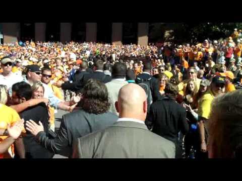 Vol Walk Before LSU Game (10/15/11)