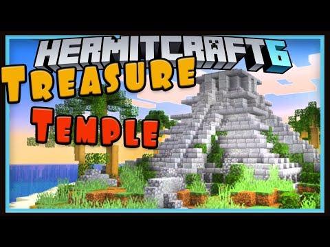 Hermitcraft Season 6: The Treasure Temple Island!   (Minecraft 1.13 survival let's play Ep.11)