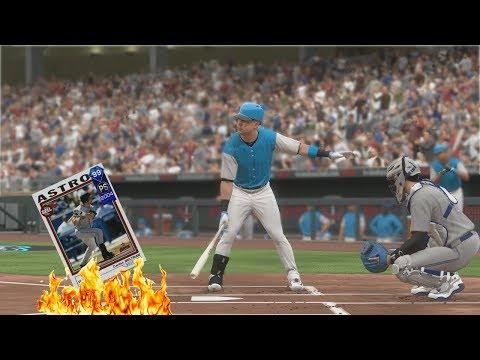 99 Carlos Beltran DEBUT!! - MLB The Show 17 DIAMOND DYNASTY Gameplay