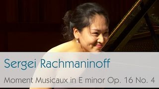Sergei Vasilievich Rachmaninoff - Moment Musicaux Op. 16 No. 4 in E minor -  Zheeyoung Moon