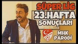 Süper Lig 23.Hafta Sonuçları - Arif Sevimli