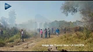 Vecinos y familiares de Benjamín Amaya quemaron el predio donde lo hallaron ahorcado