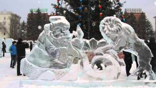 Ледяные фигуры 2013 год