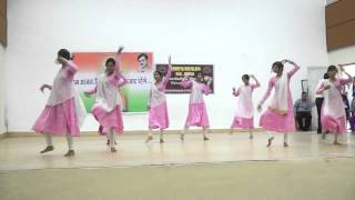 Independence day dance performed in KV GAIL Jhabua