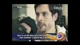 """Déjà Vu Serie Web: Nota CityTV en """"Arriba Bogotá"""""""