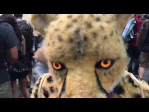 Cosplay Cheetah Interview At Comic Con #SDCC