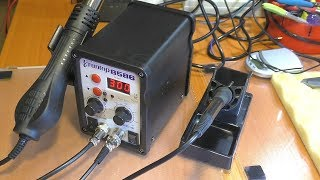 Обзор паяльной станции Eruntop 8586 спустя полгода эксплуатации