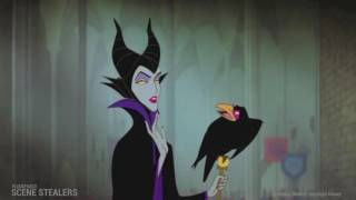 Sleeping Beauty - Maleficent gatecrashes the party -  Flickfeast's Scene Stealers