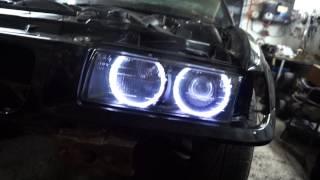 BMW 3er E36 M50 150л.с обзор, звук выхлопа и пример достойного восстановления кузова