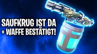 SAUFKRUG IST DA + WAFFE BESTÄTIGT! | Fortnite: Battle Royale