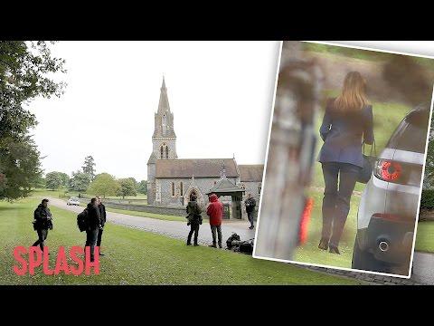 Pippa Middleton Arrives For Her Wedding Rehearsal  | Splash News TV