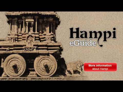 Hampi: Travel eGuide Mobile app with 130+ Pictures and many more info..