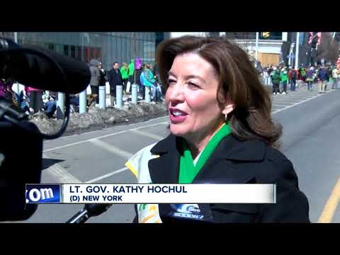 Thousands of people pack downtown Buffalo for St. Paddy's