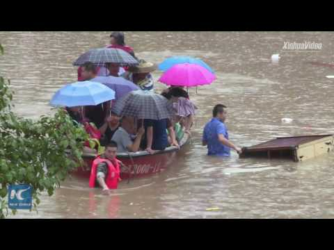27 people die in floods in Hunan, China