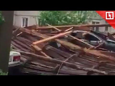 Снесло крышу пятиэтажки