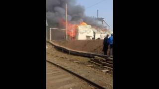 Пожар п. Энергетик ООО