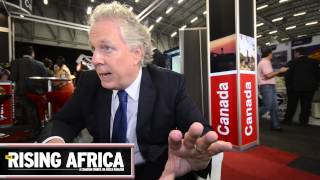 Now is a Good Time to be Here (Africa) - Jean Charest at Mining Indaba 2014