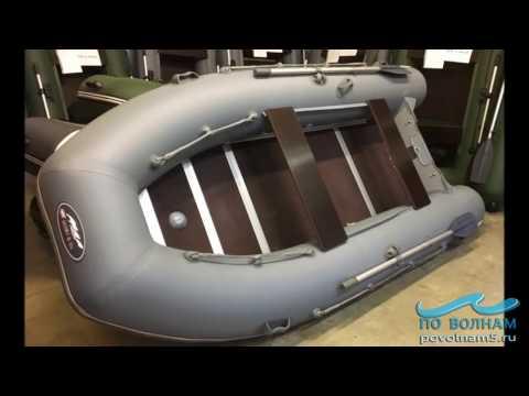 Сборка лодки Кайман N380