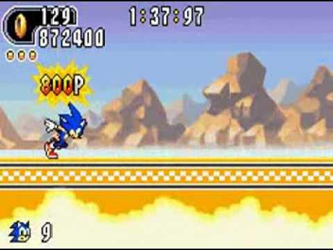 Sonic Advance 2 (GBA) - Sonic Longplay Part 1