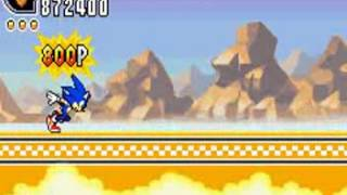 Sonic Advance 2 (GBA) - Sonic Longplay Part 1