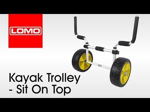 Lomo Kayak Trolley - Sit On Top