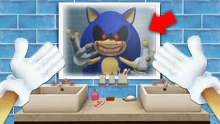 I Became SONIC.EXE For 24 Hours... (Creepypasta)