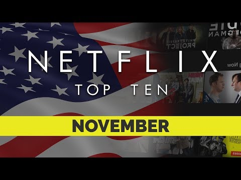 Top Ten movies on Netflix US for November 2017